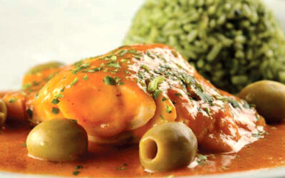 Bacalhau do Alasca ao molho de tomate